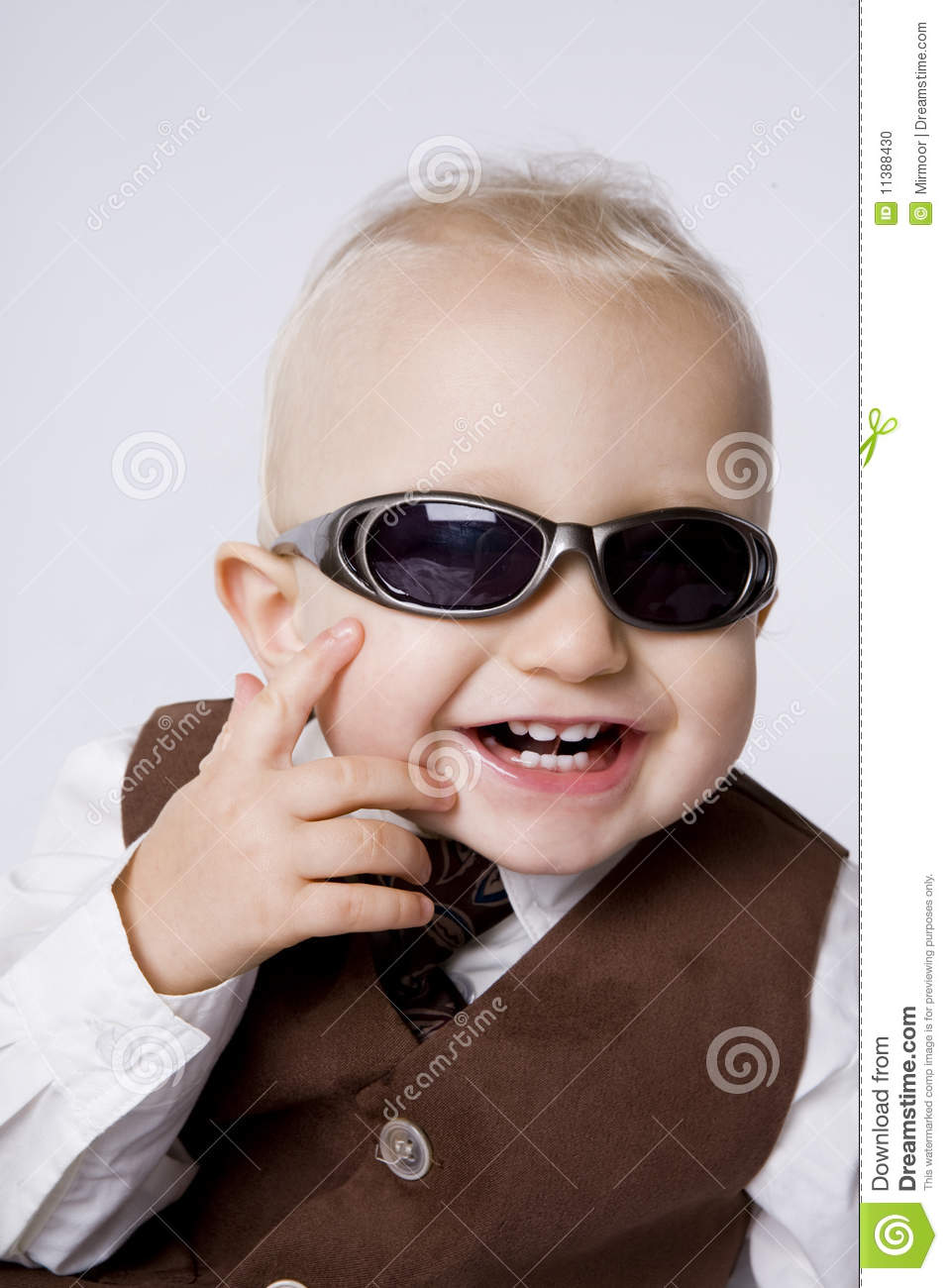 Little Boy in Sunglasses