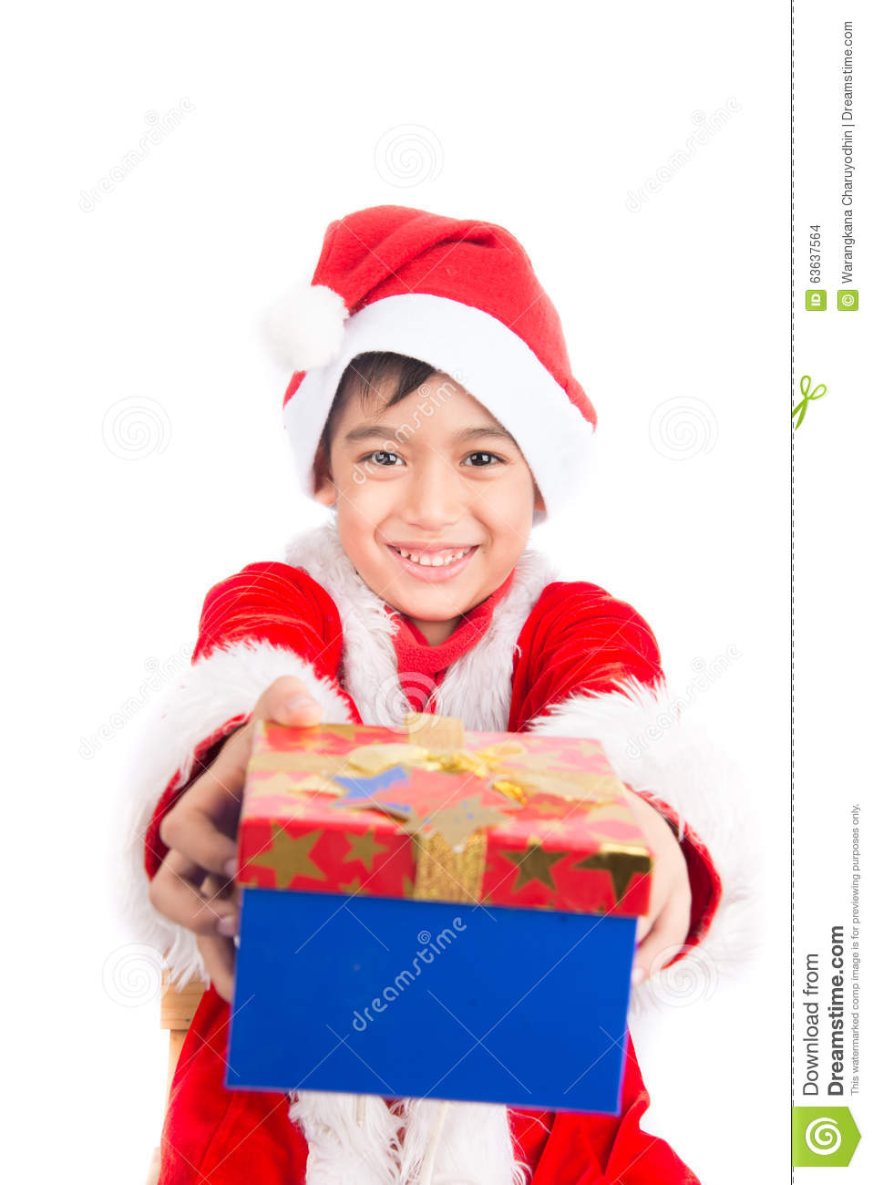 Giving gifts at christmas time