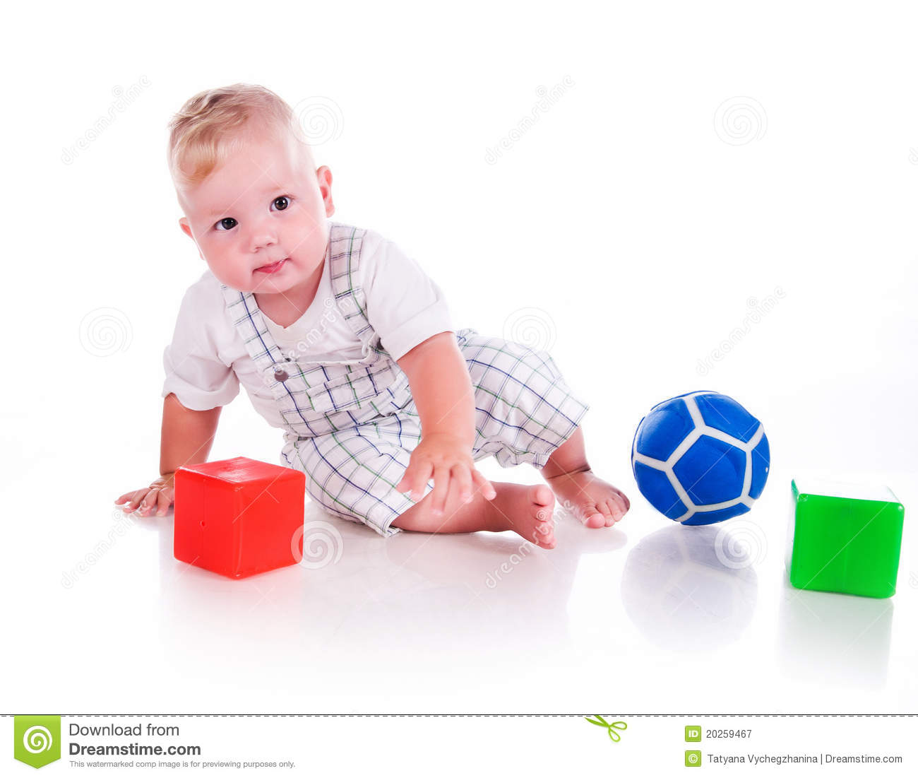Little Boy Toys : Little boy with a toys royalty free stock photography