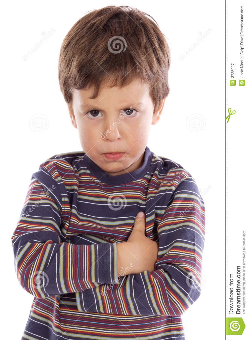 little boy upset royalty free stock photography image 3735027