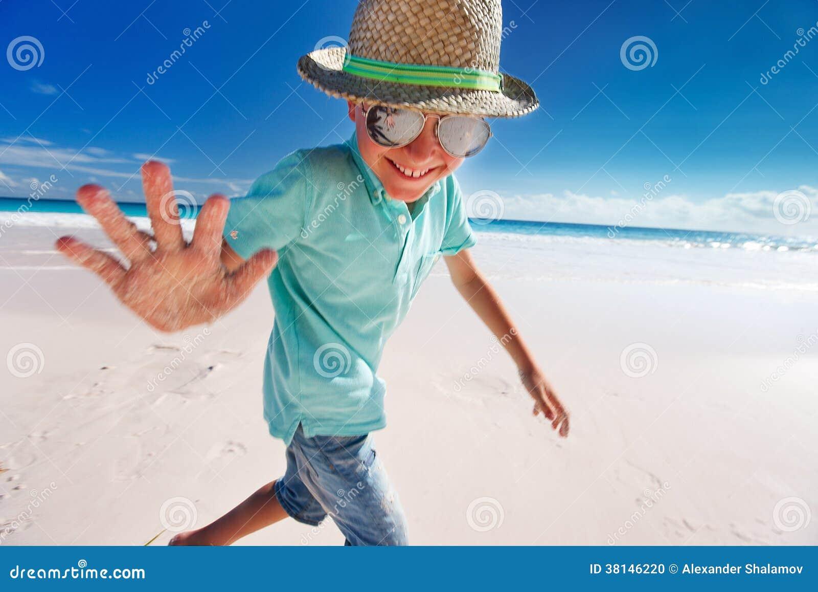 Little boy on vacation