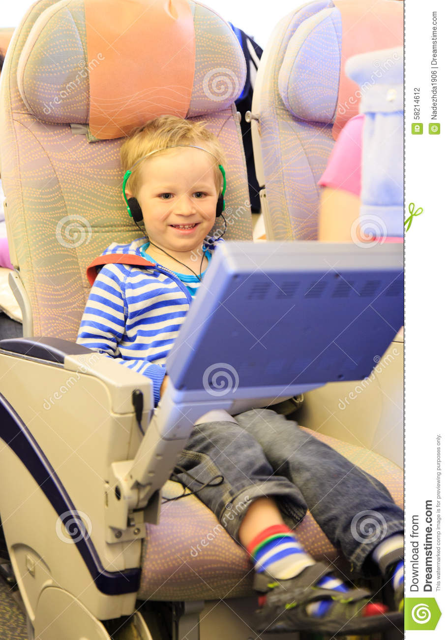 Little Boy With Suitcase And Map, Traveling Stock Photo ...  Little Boy Traveling