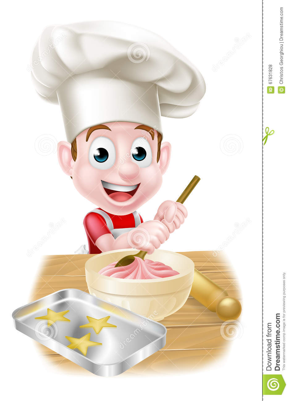 Baking Cakes Pictures Cartoons