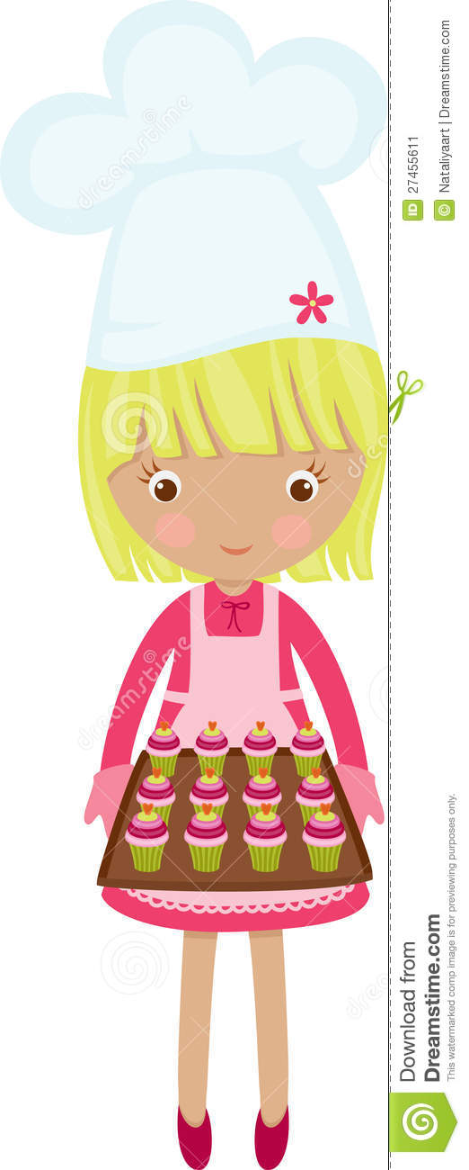 Little Chef Girl Stock Image - Image: 27455611