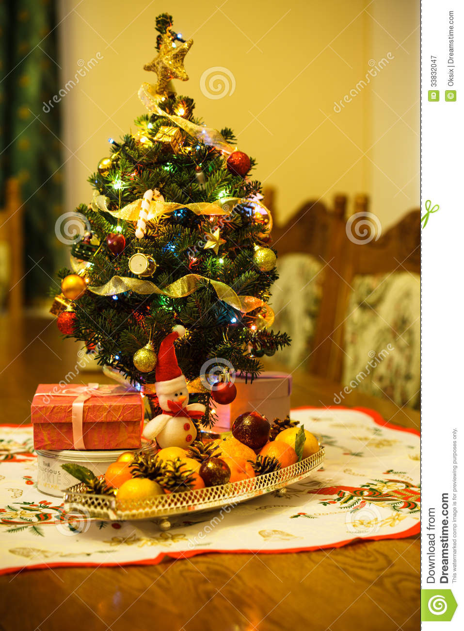 Little christmas tree royalty free stock photography - Fruit trees in small spaces decoration ...