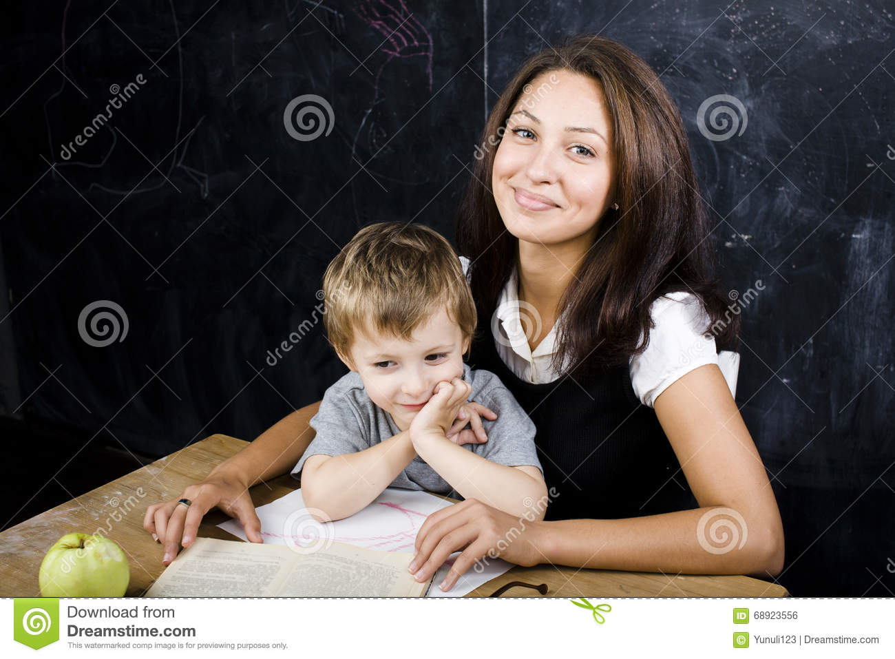Image result for images of a  teacher holding a hand of a small boy