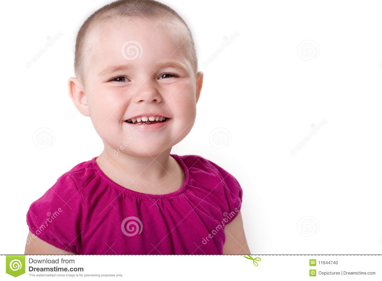 Little Cute Girl Laughing Stock Photo Image Of Lovely 11644740