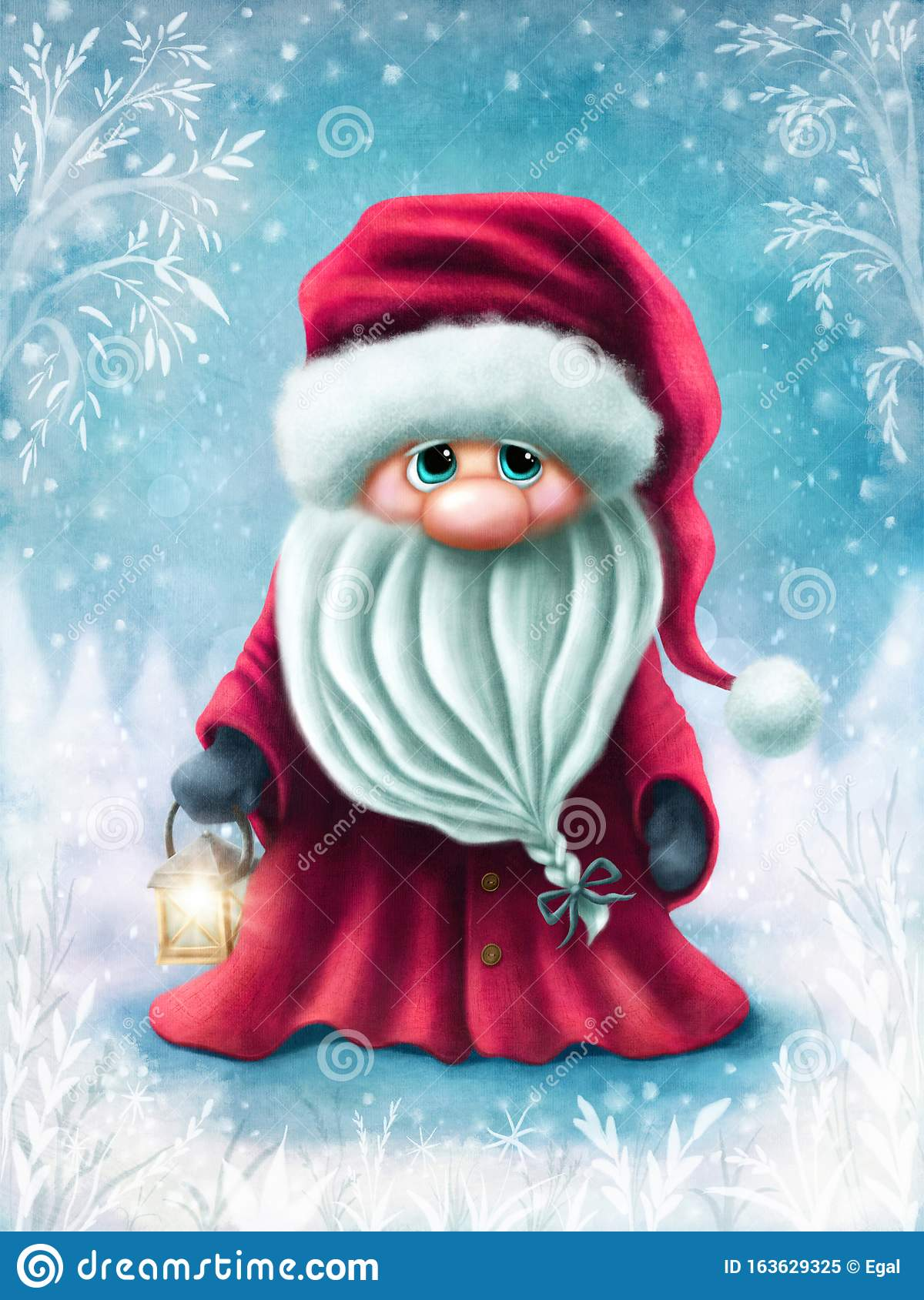 Little cute santa