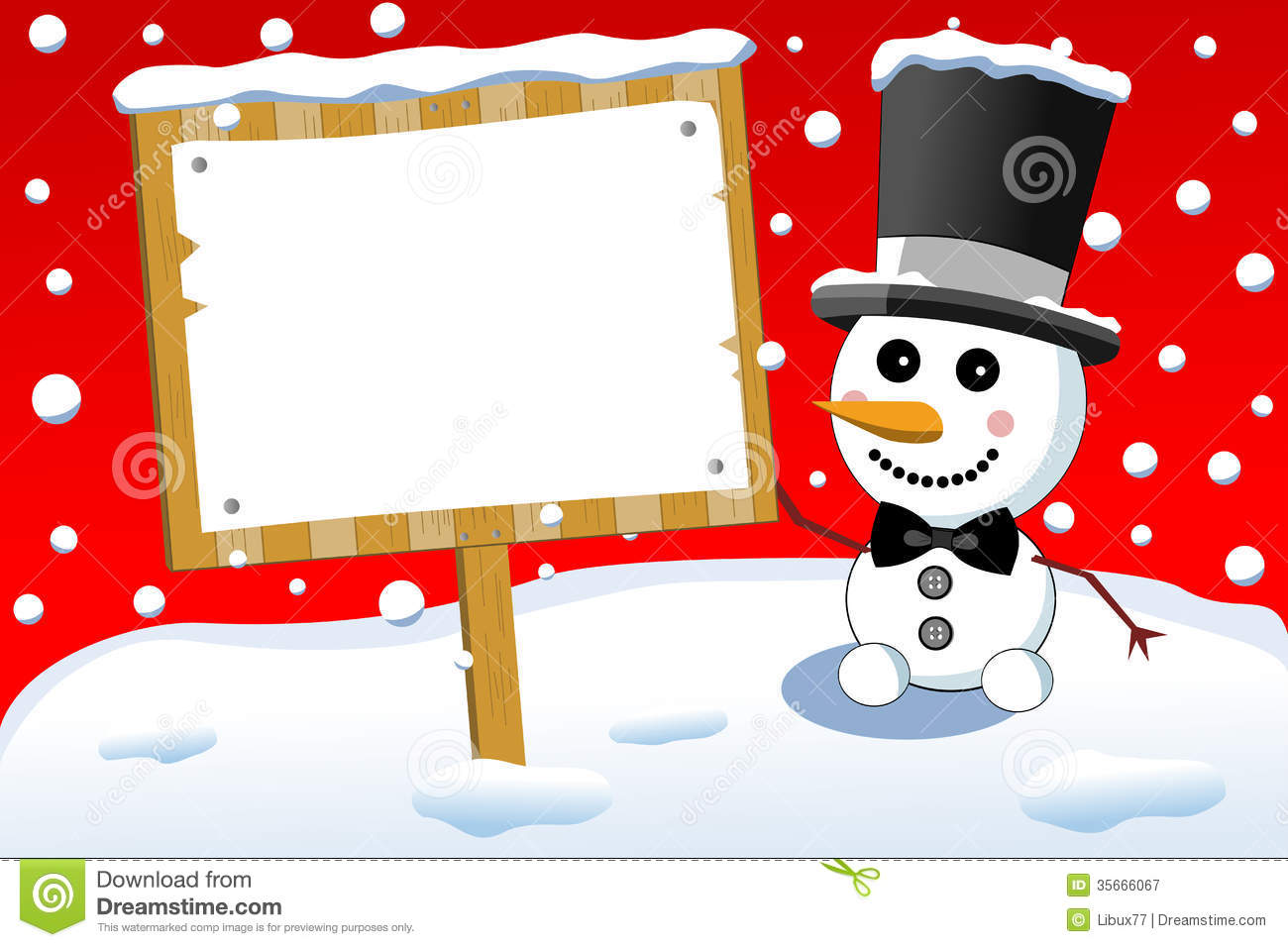 featuring a little cute smiling snowman with bow tie and top hat ...