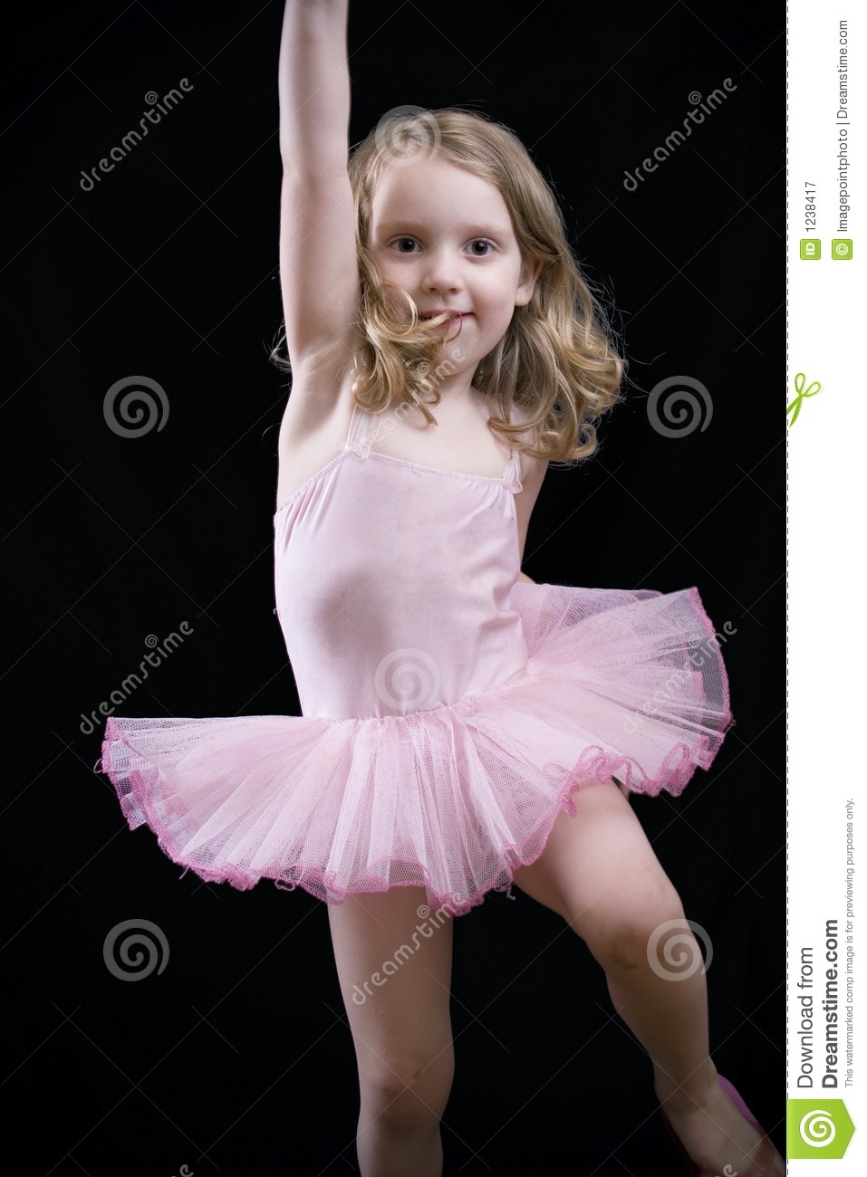 Little Dancing Girl Royalty Free Stock Photography  Image: 1238417
