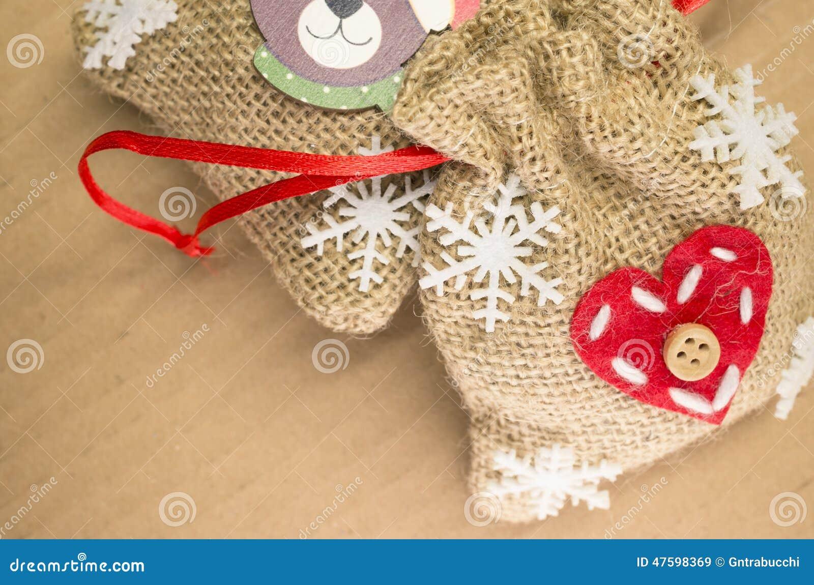 Little decorative burlap bags stock photo image 47598369 for Decorative burlap bags