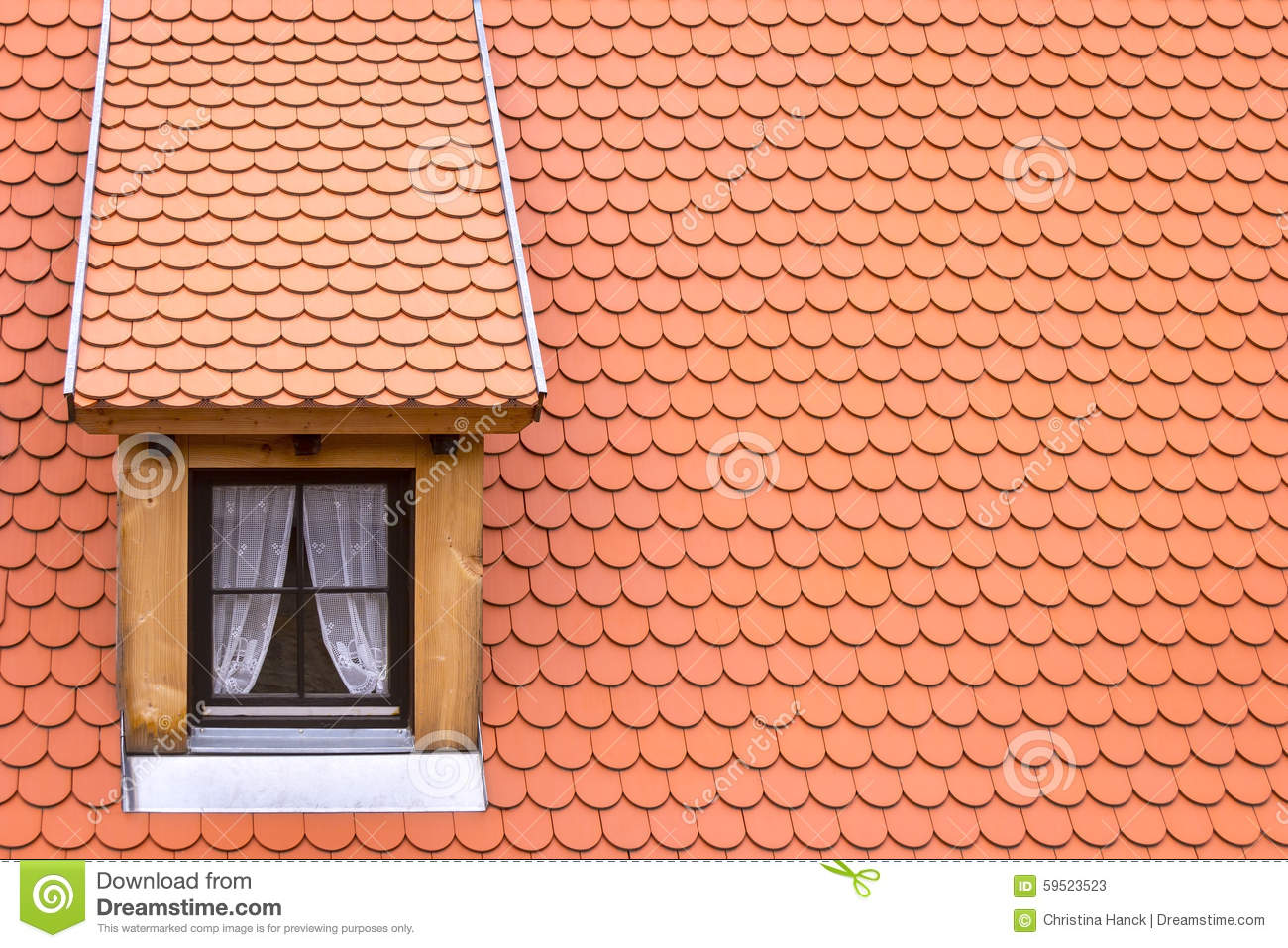 Little Dormer Stock Photo Image 59523523