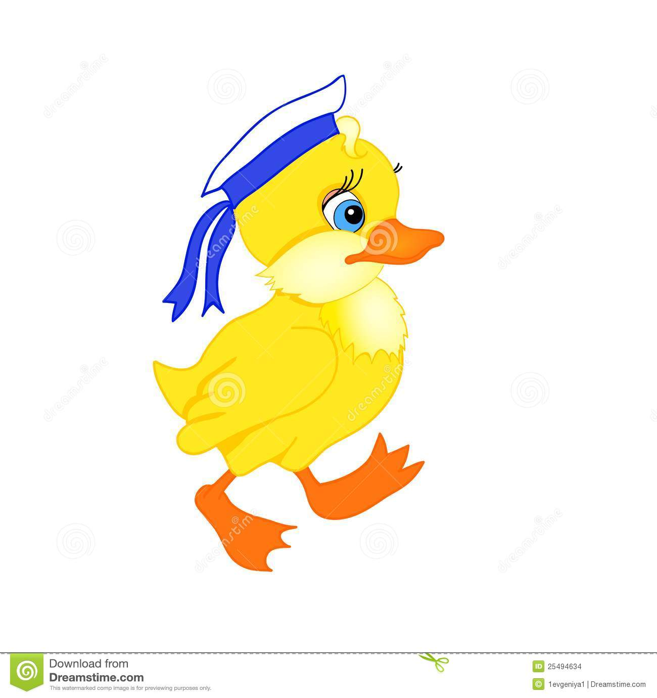 Little Duck Cartoon Stock Images Image 25494634