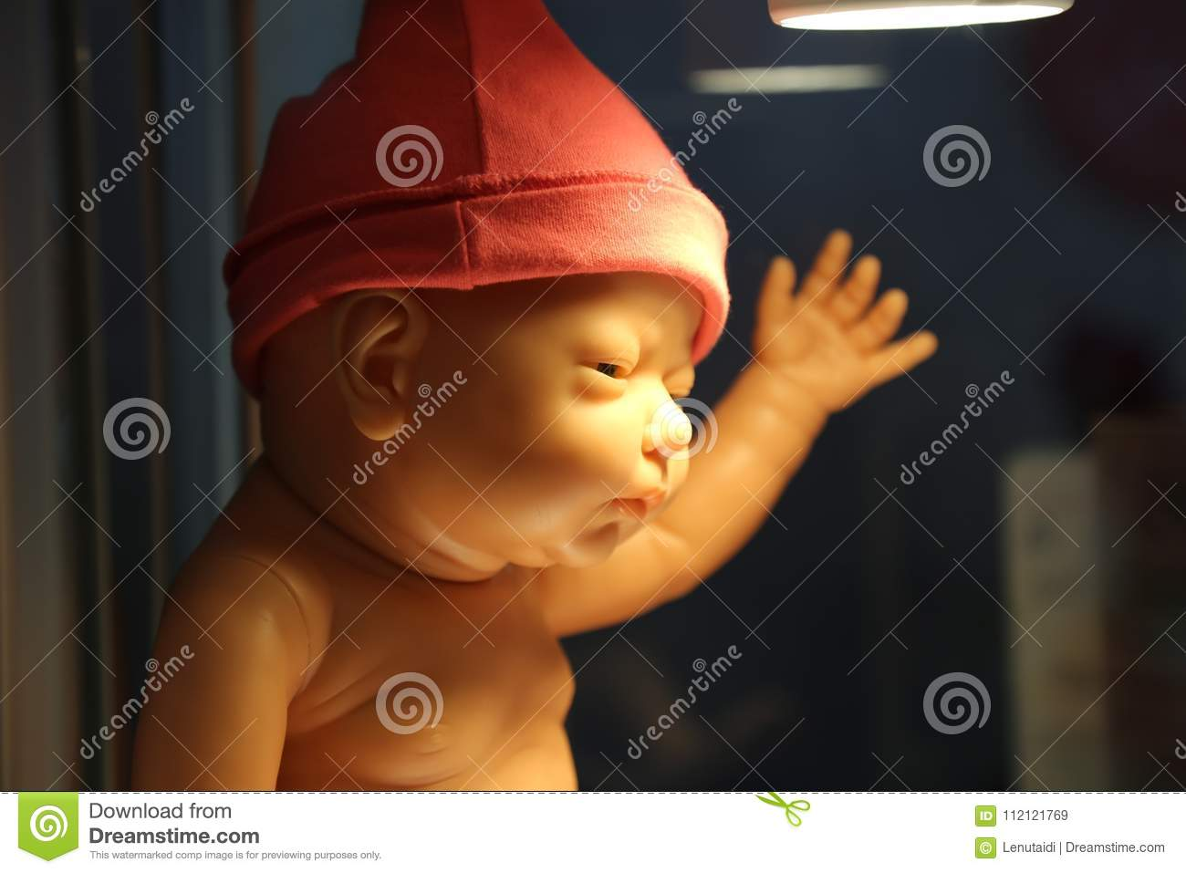 Baby dummy with fez stock image. Image of adorable a8a291bb075