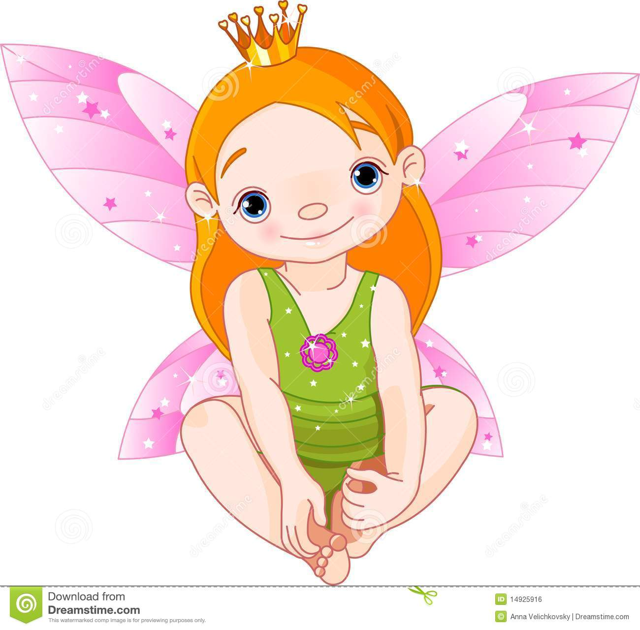 Little Fairy Princess Royalty Free Stock Image - Image: 14925916