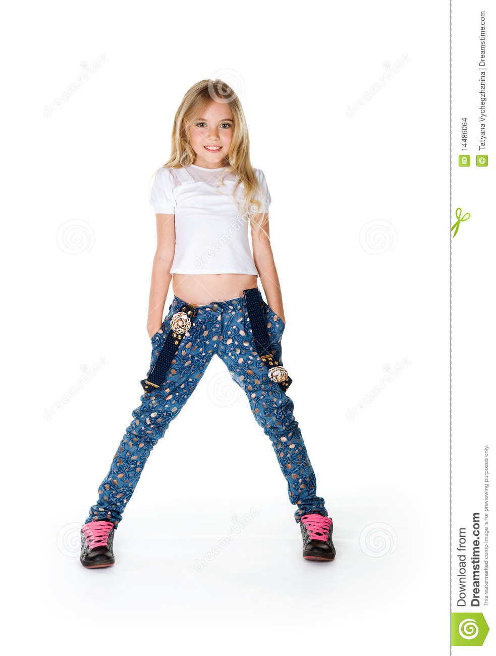 Little Fashion Model Stock Images - Image: 14486064