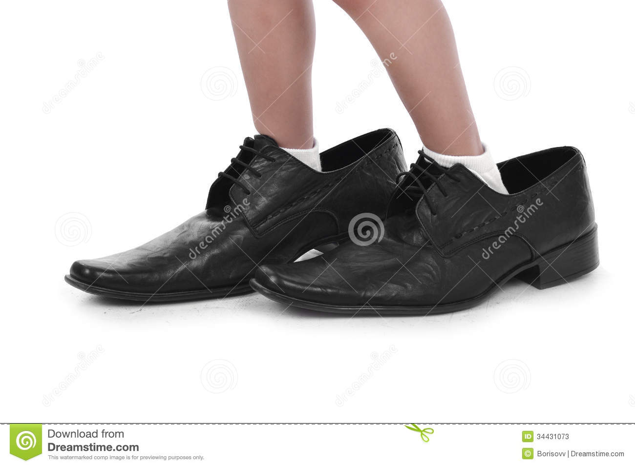 in big black shoes stock photos image 34431073
