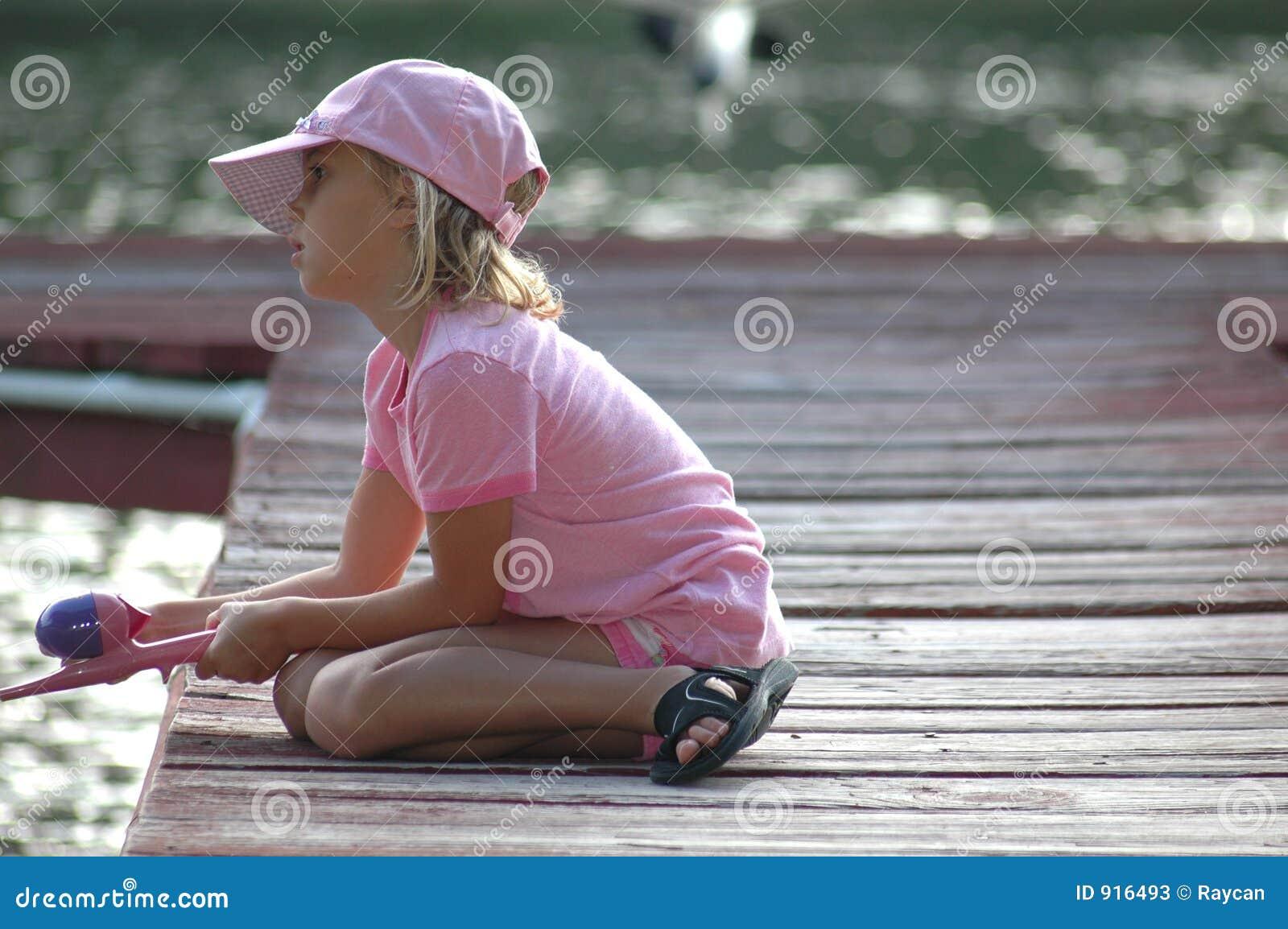 Little Fishing girl