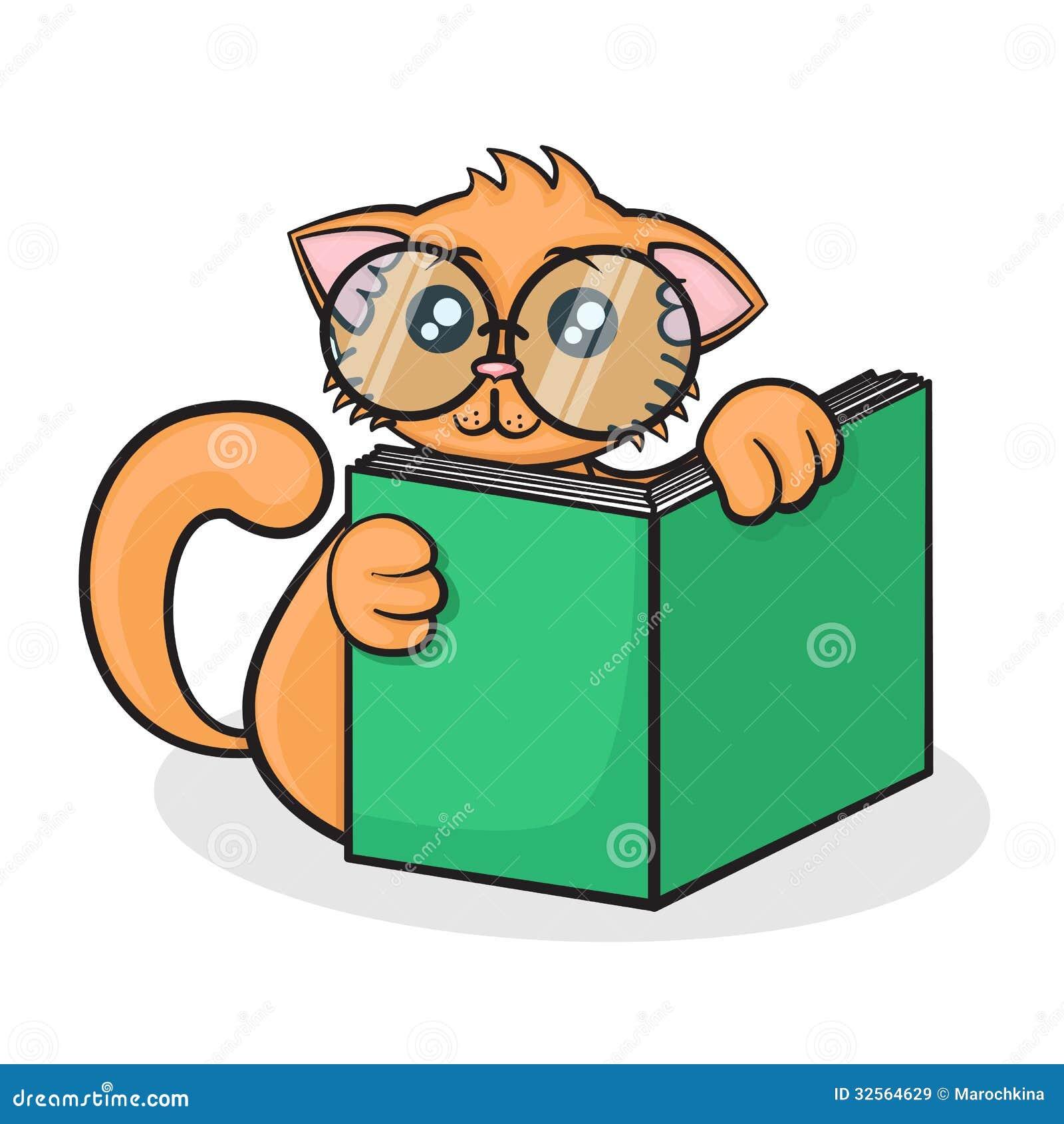 Little Funny Cartoon Cat Stock Illustration Illustration Of Kitty