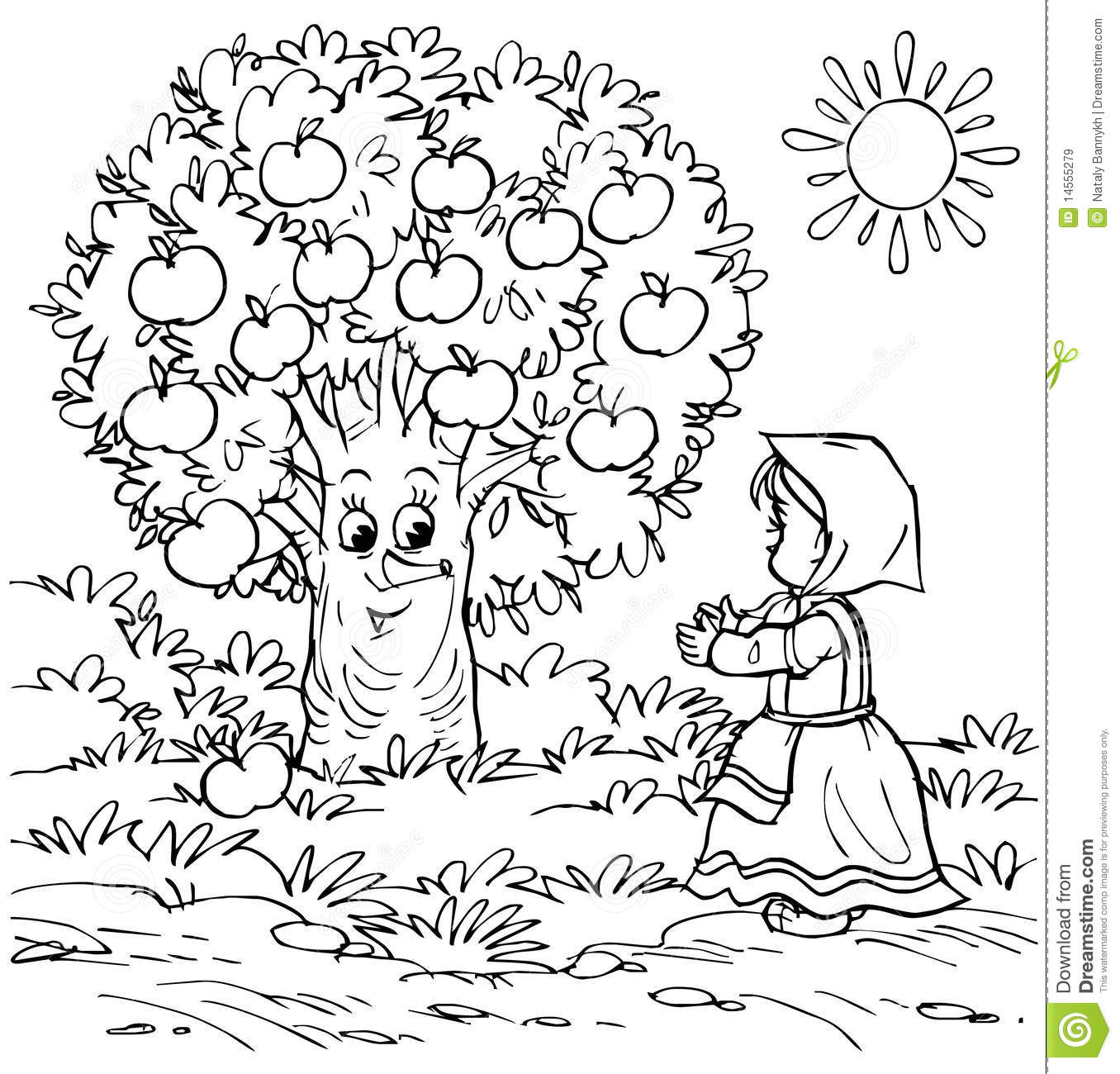 little and apple tree royalty free stock images image 14555279