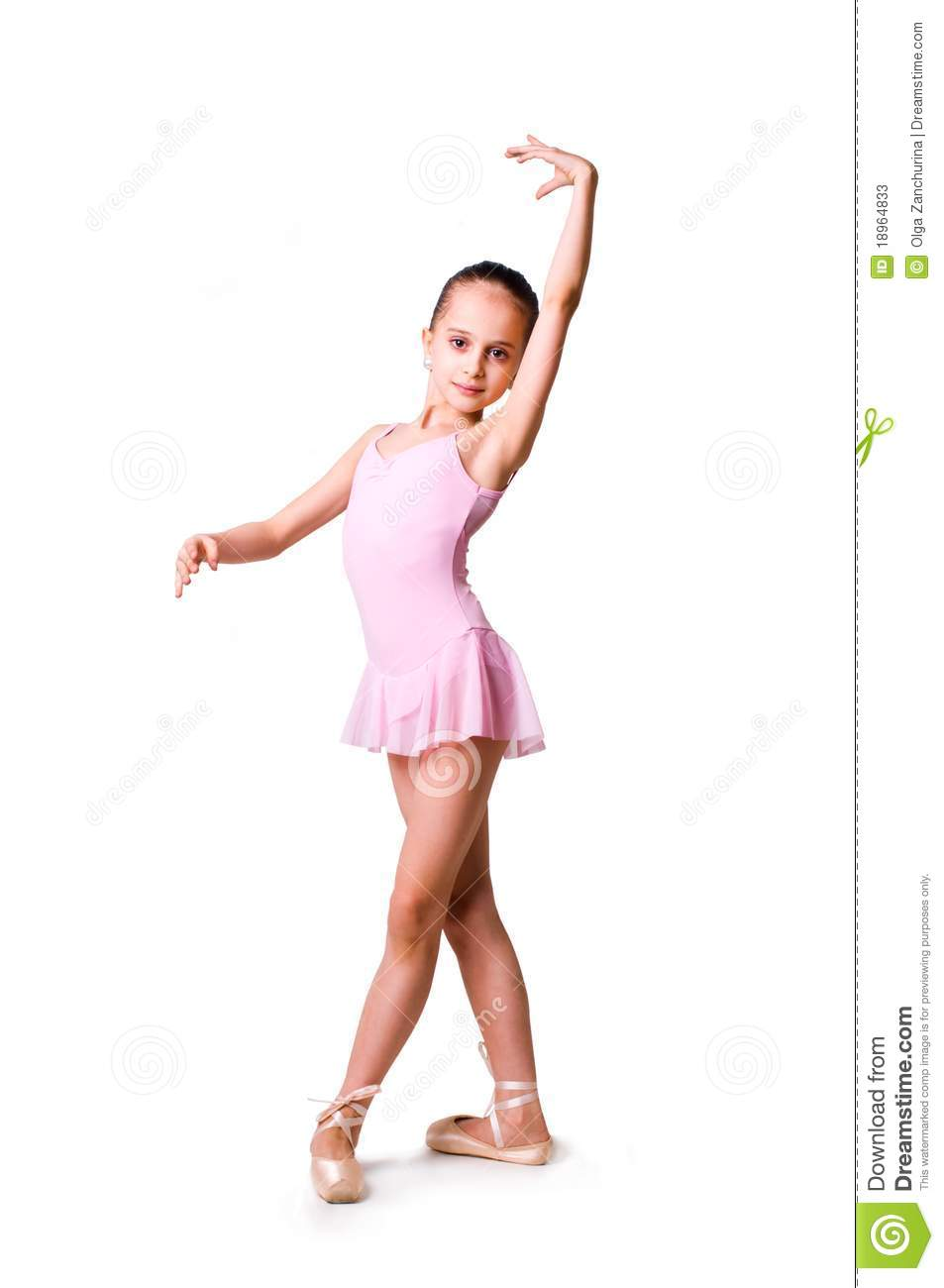Little Girl Ballerina Stock Photos Image 18964833