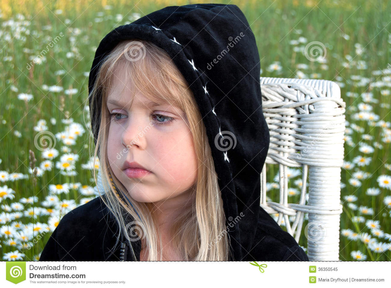 Girl In Green Hoodie. Royalty Free Stock Photos - Image: 36924118