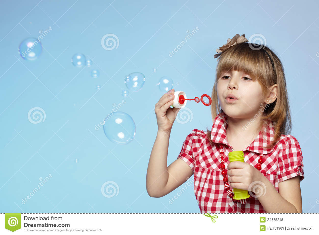 Watch How to Blow a Soap Bubble video
