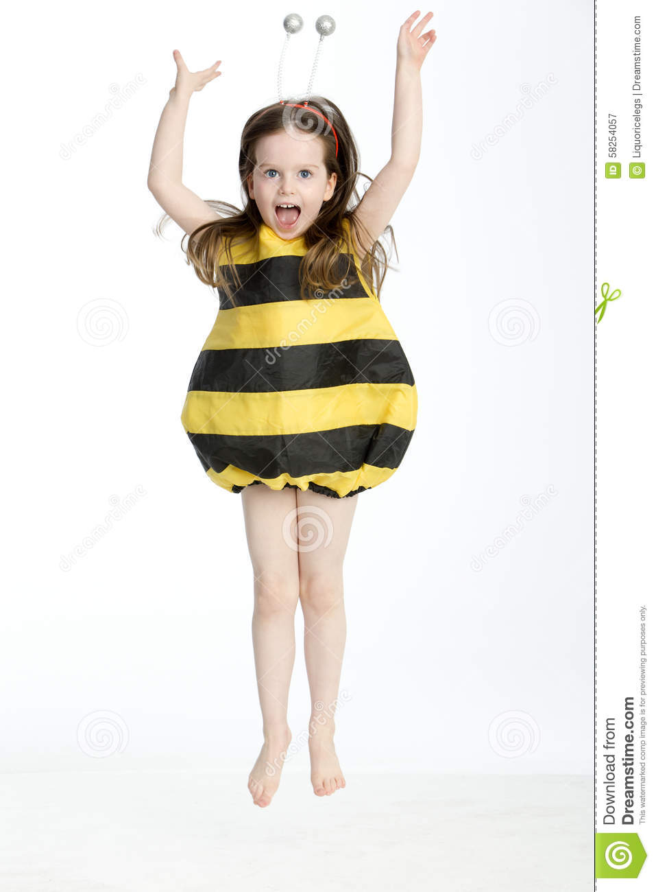 bumble bee bangs girl