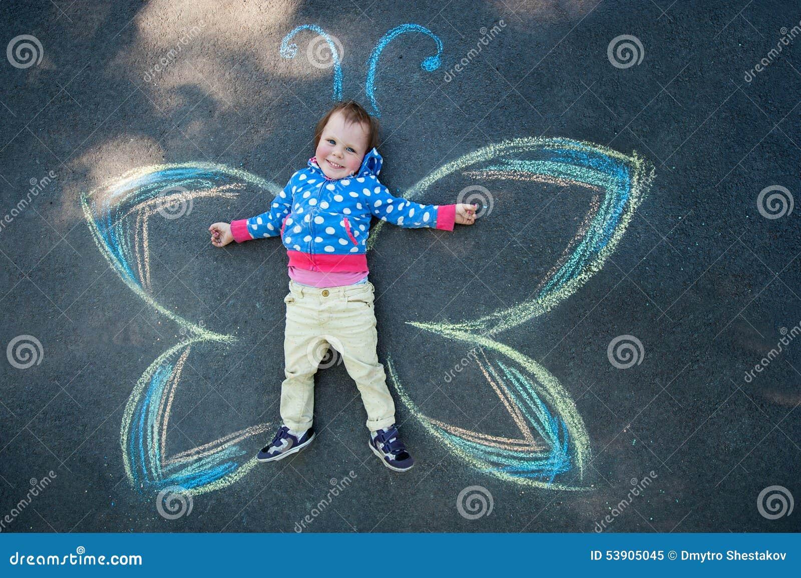 Little Girl Butterfly