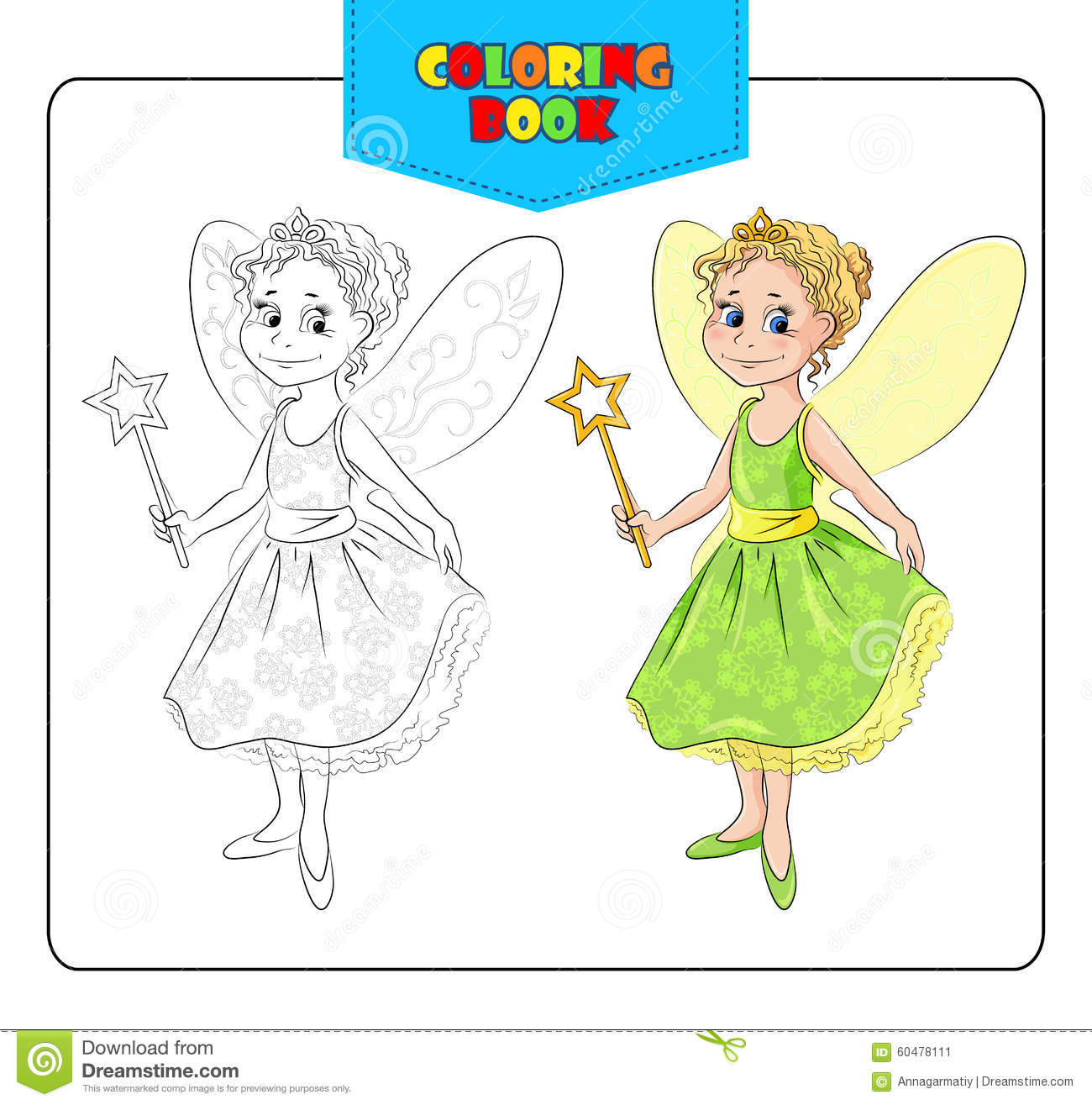 Book Carnival Cartoon Colored Coloring Costume Dress Fairy Fancy