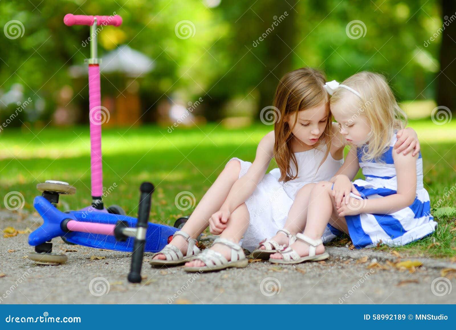 Girl dating her sister