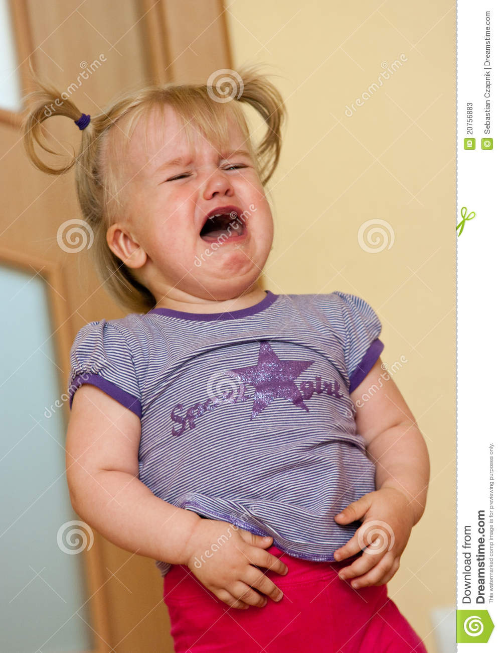 Little Girl Crying Stock Photos - Image: 20756883