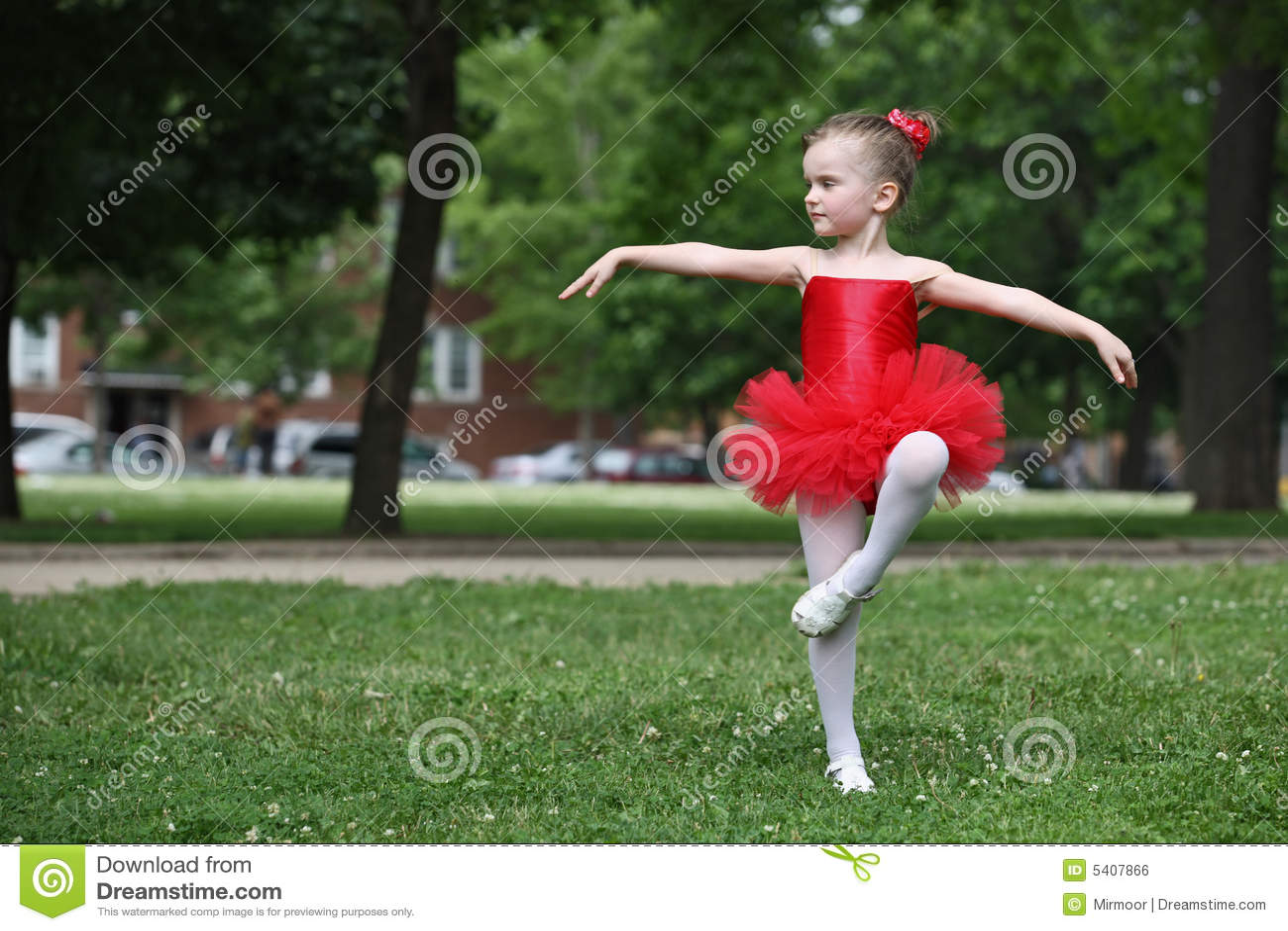 Little girl dancing stock photo. Image of dancing, dress ...