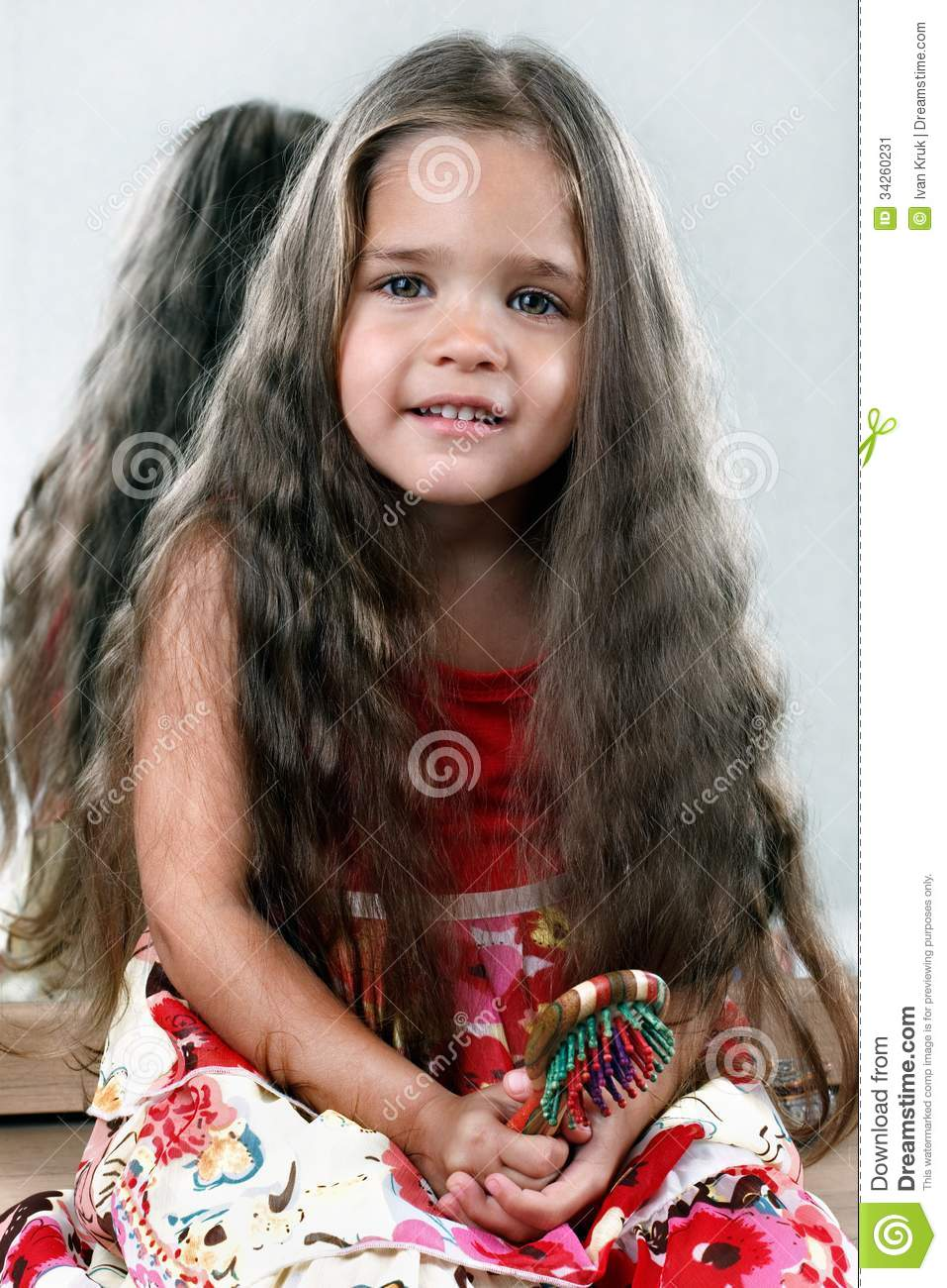 Hairy daughter