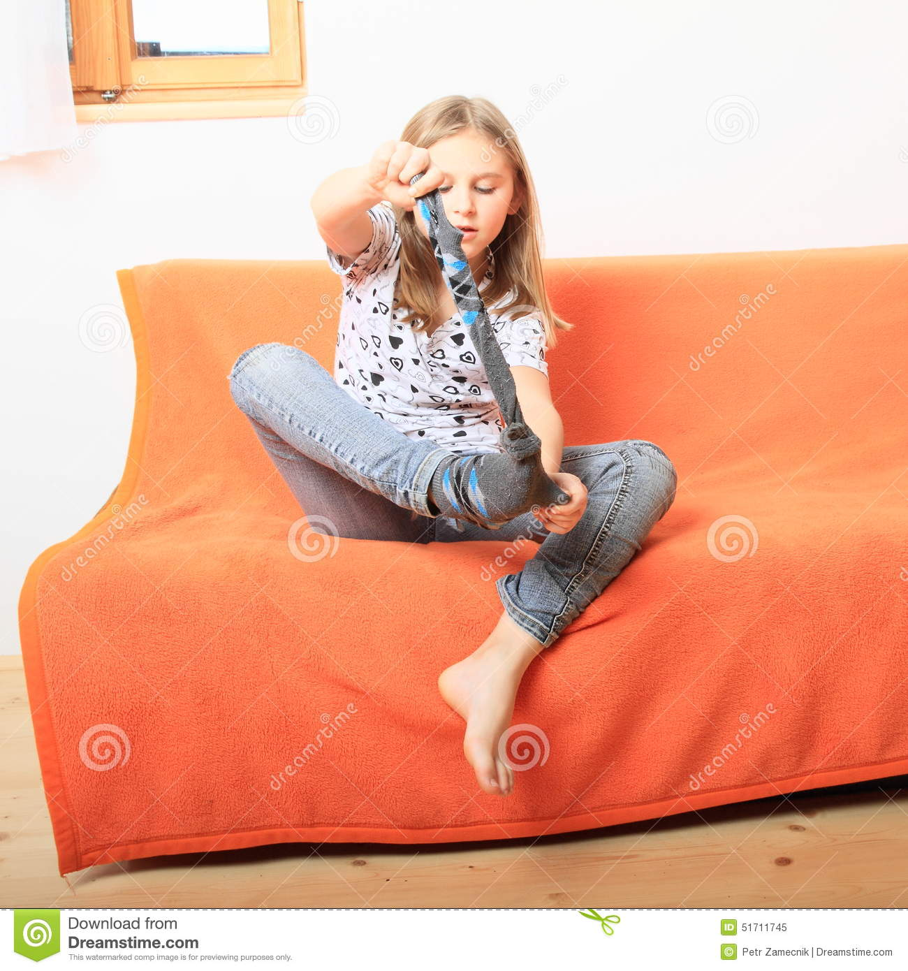 Hand Rubbed Brown Leather Recliner DZ24815 besides Moon System BeB further Red Leather Sectional Couch also Sofa besides Stock Photo Little Girl Divesting Socks Kid Sofa Orange Cover Image51711745. on sofa ottoman