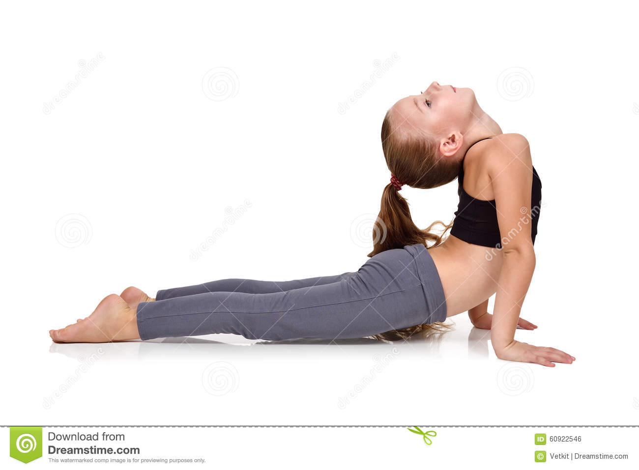 For the lttle girls doing yoga have removed