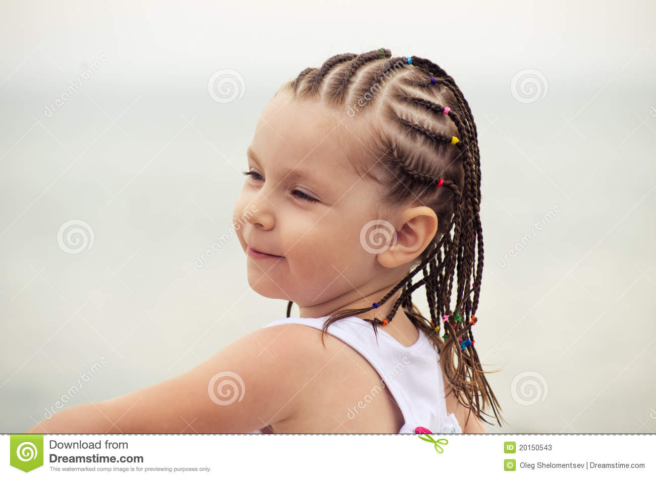 Little Girl With Dreadlocks Stock Photos - Image: 20150543