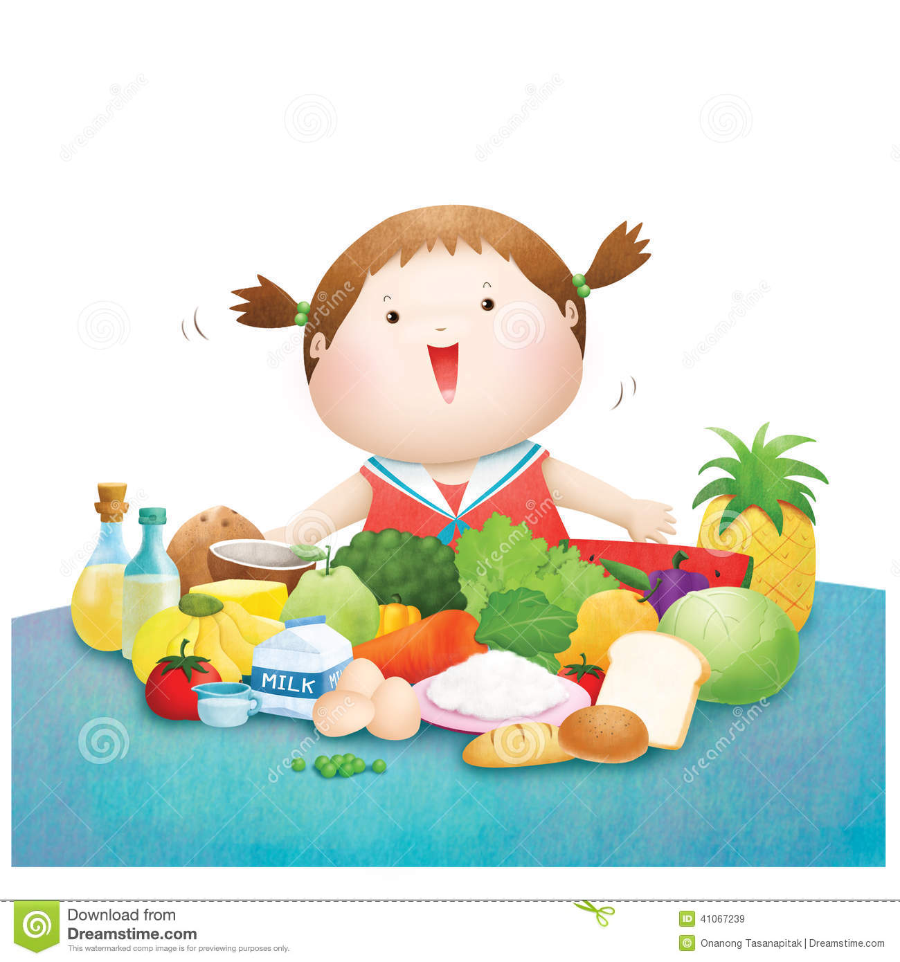 Girl eating on table illustration, Breakfast Eating Child, little girl  eating breakfast, food, fashion Girl png | PNGEgg