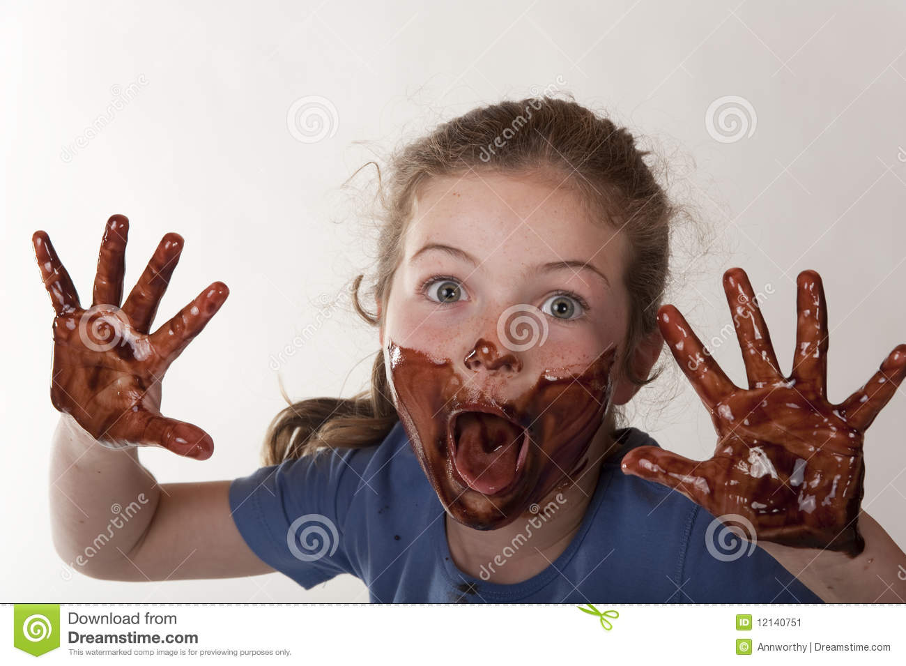 Child Chocolate Face Stock Photos, Images, & Pictures - 2,970 Images