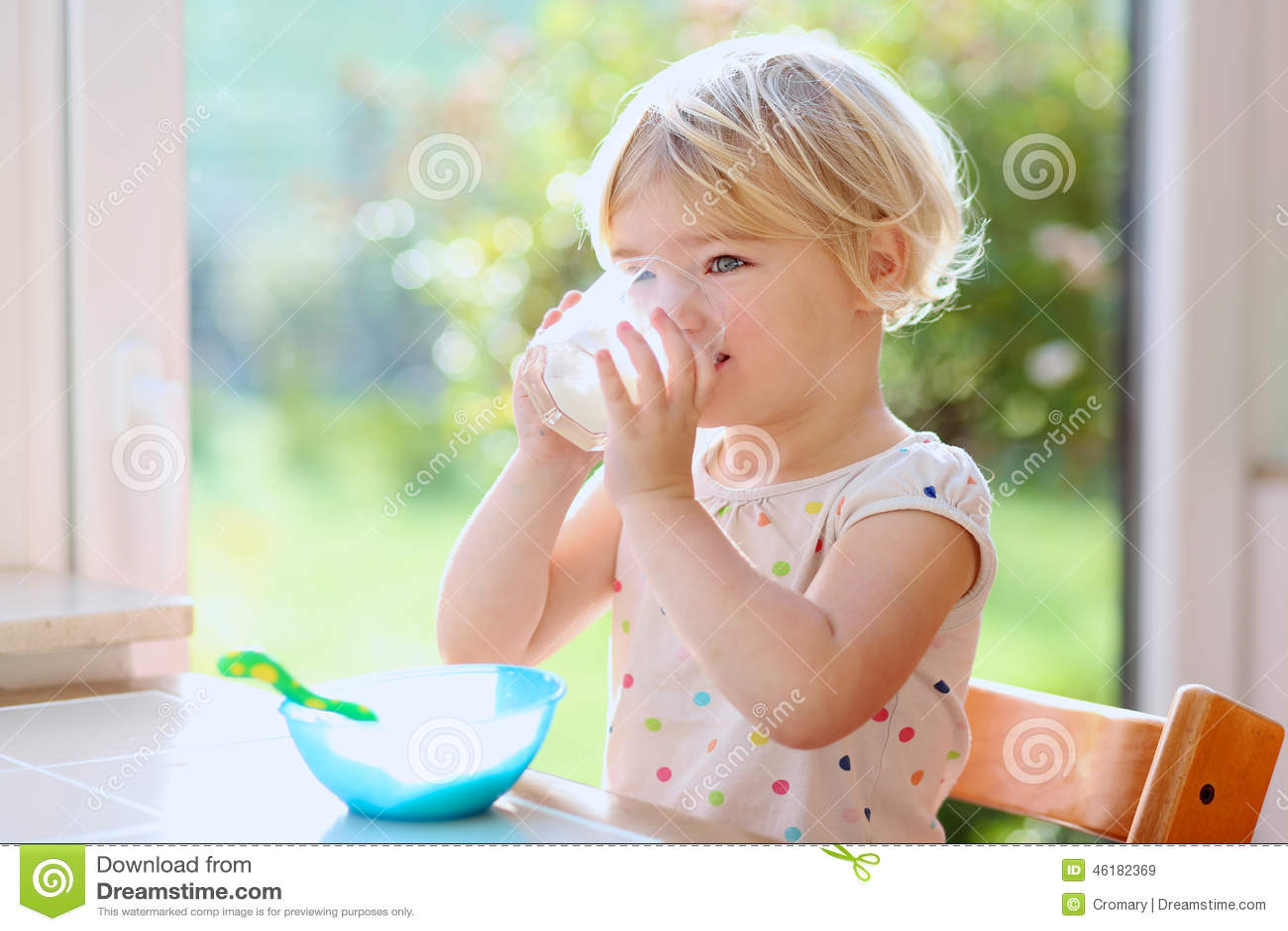Baby Food Oatmeal Milk