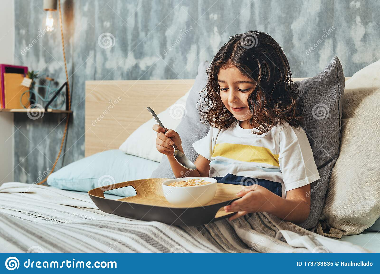 1 060 Bed Breakfast Kid Photos Free Royalty Free Stock Photos From Dreamstime