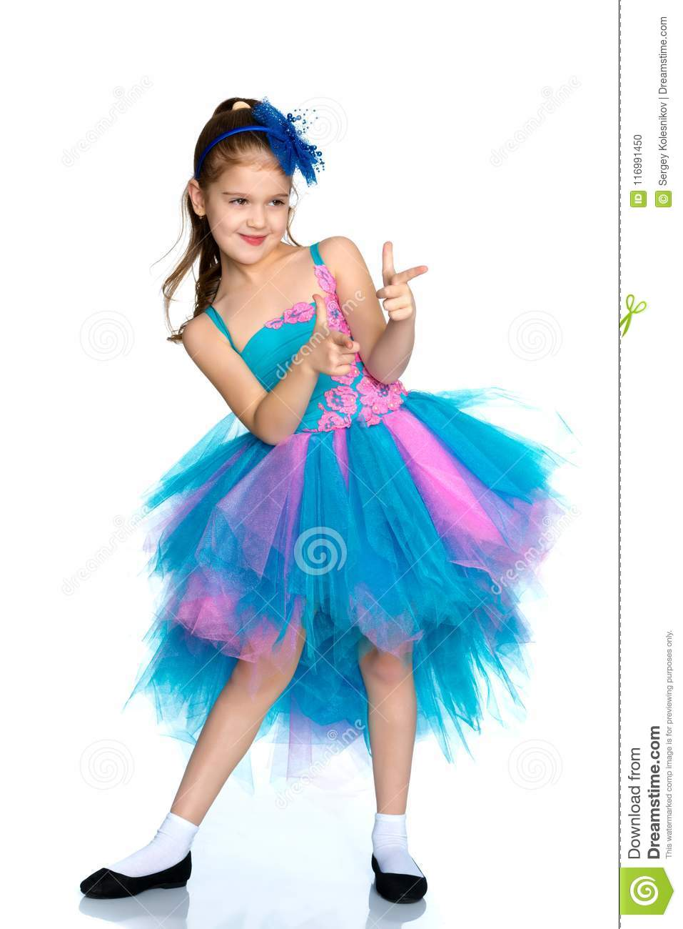 3937c9fff Little Girl Holding Her Thumb Up Stock Photo - Image of child ...