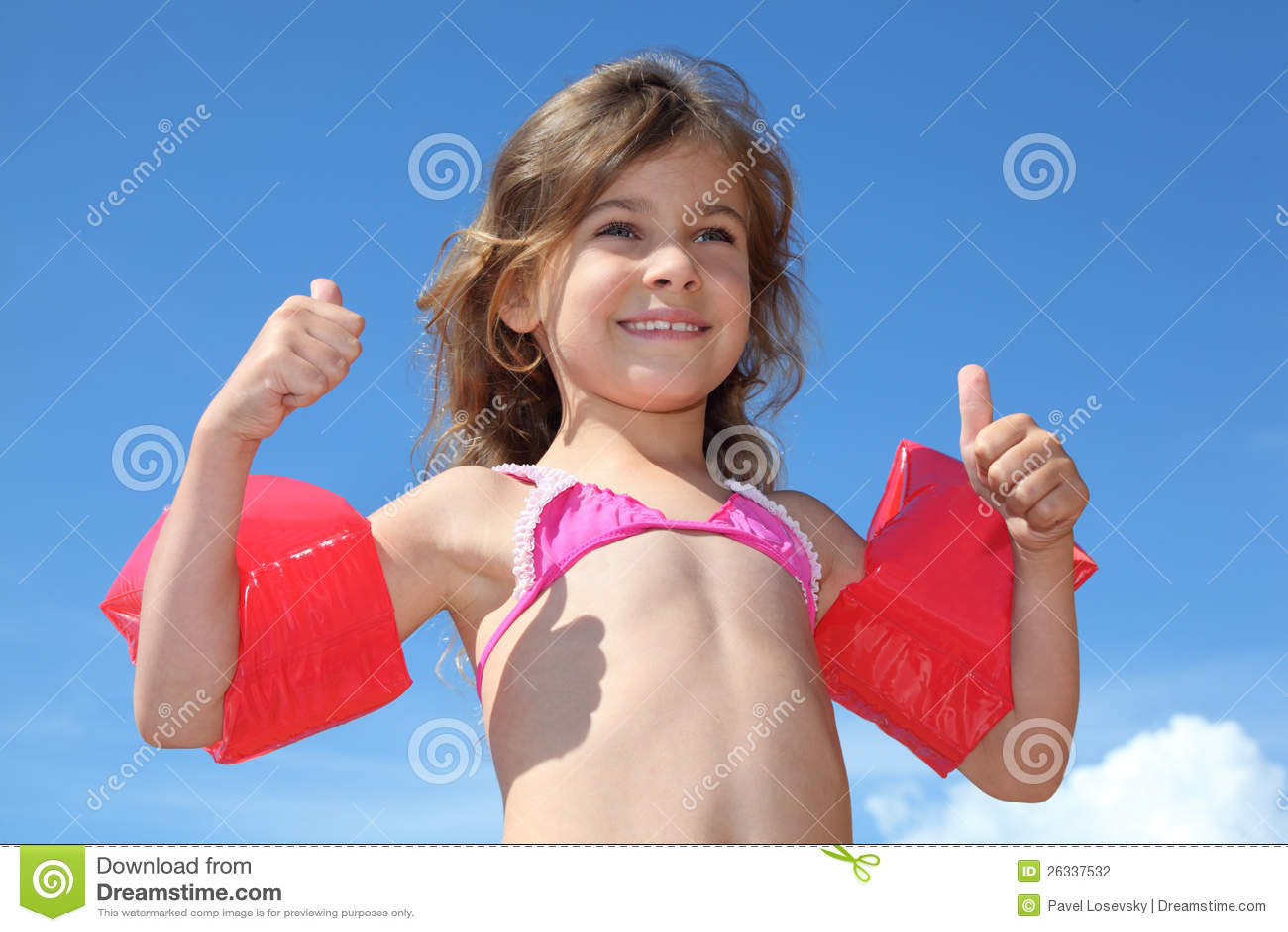 Inflatable Armbands Stock Photo - Image: 58125376