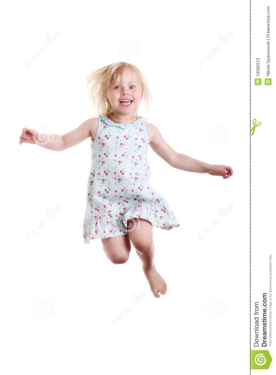 Little girl jumping stock photography image 19580312 - Pics of small little girls ...