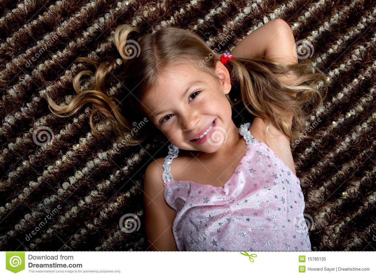 Little girl lying down on a rug and smiling stock image image 15785135 - Pics of small little girls ...