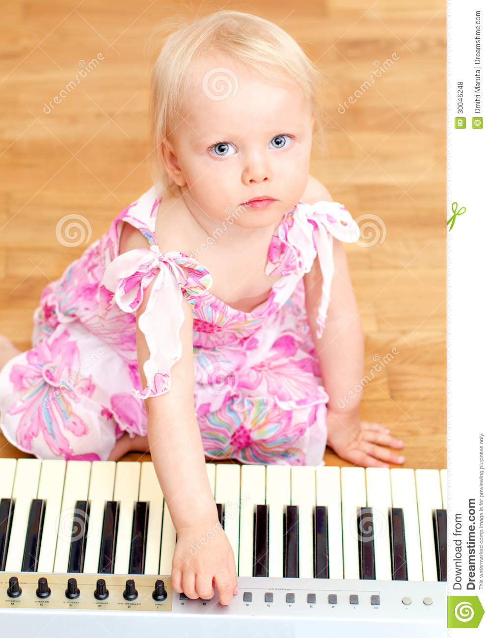 Free Clipart Girl Playing Piano