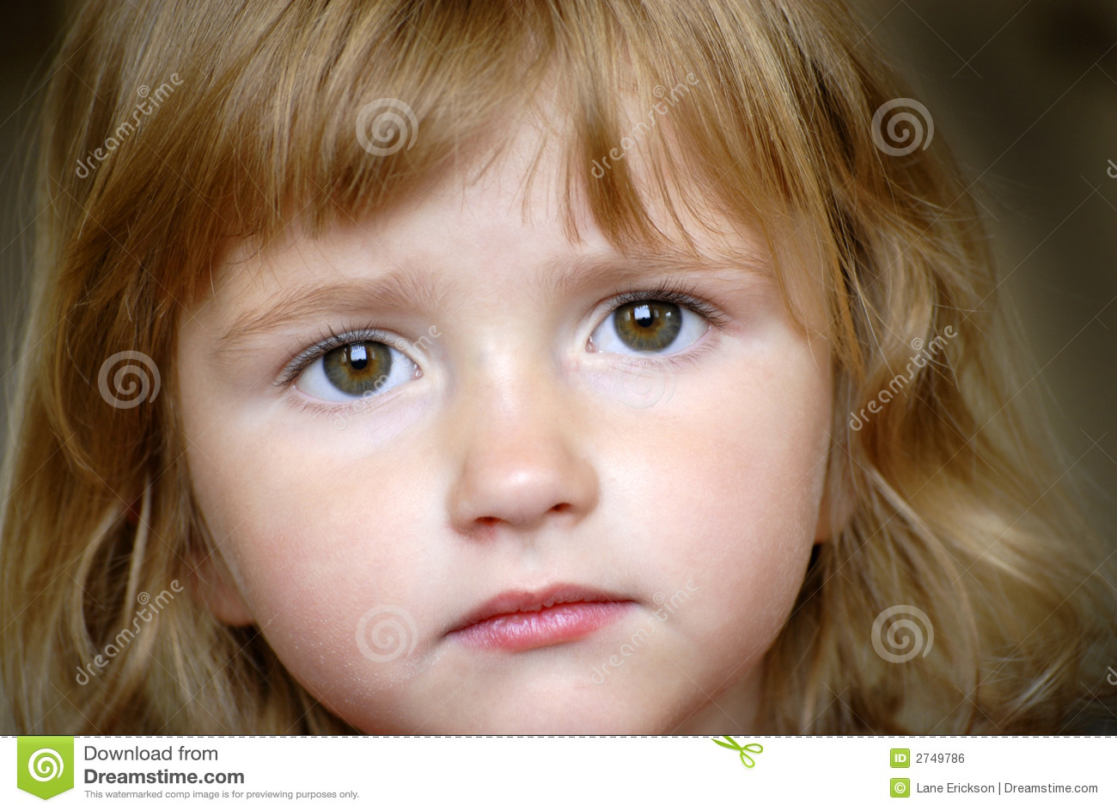 77c1b8626bb Little Girl Portrait stock photo. Image of innocent