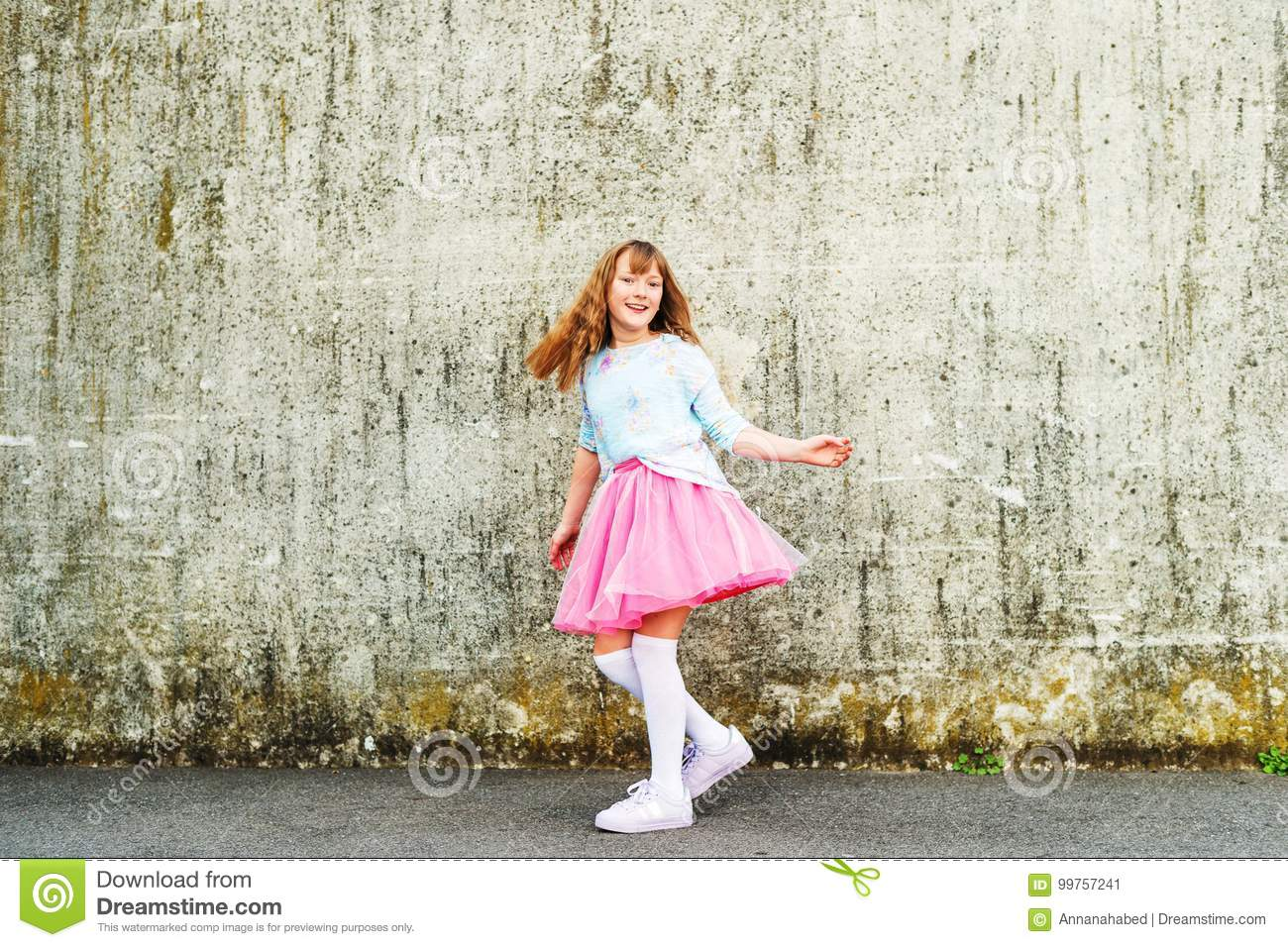 24ce31933 Little girl portrait stock image. Image of outdoors