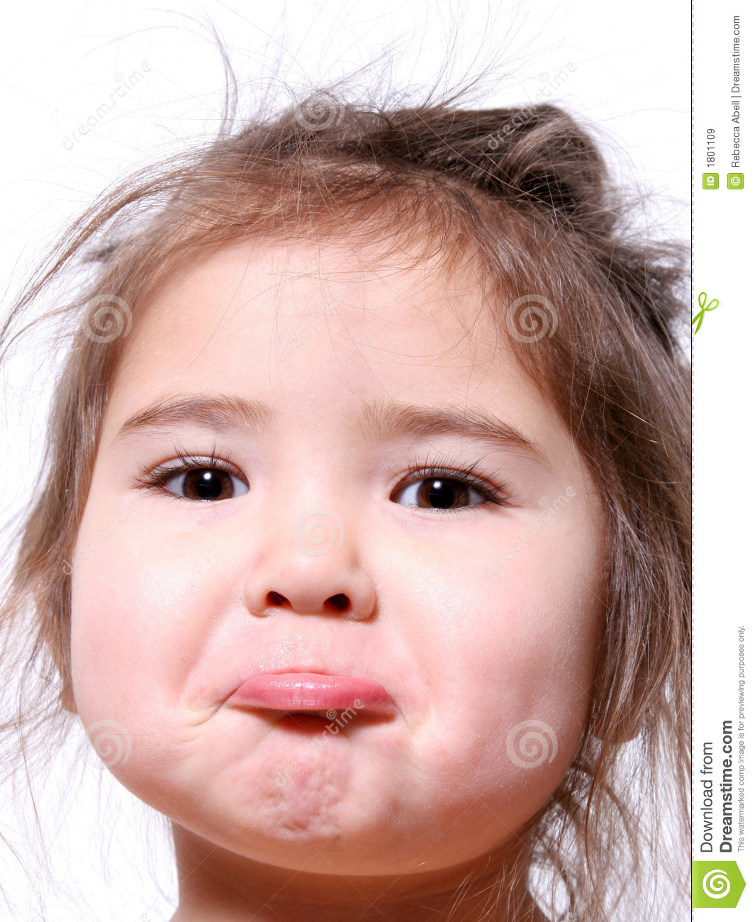 Clipart Of A Girl Crying