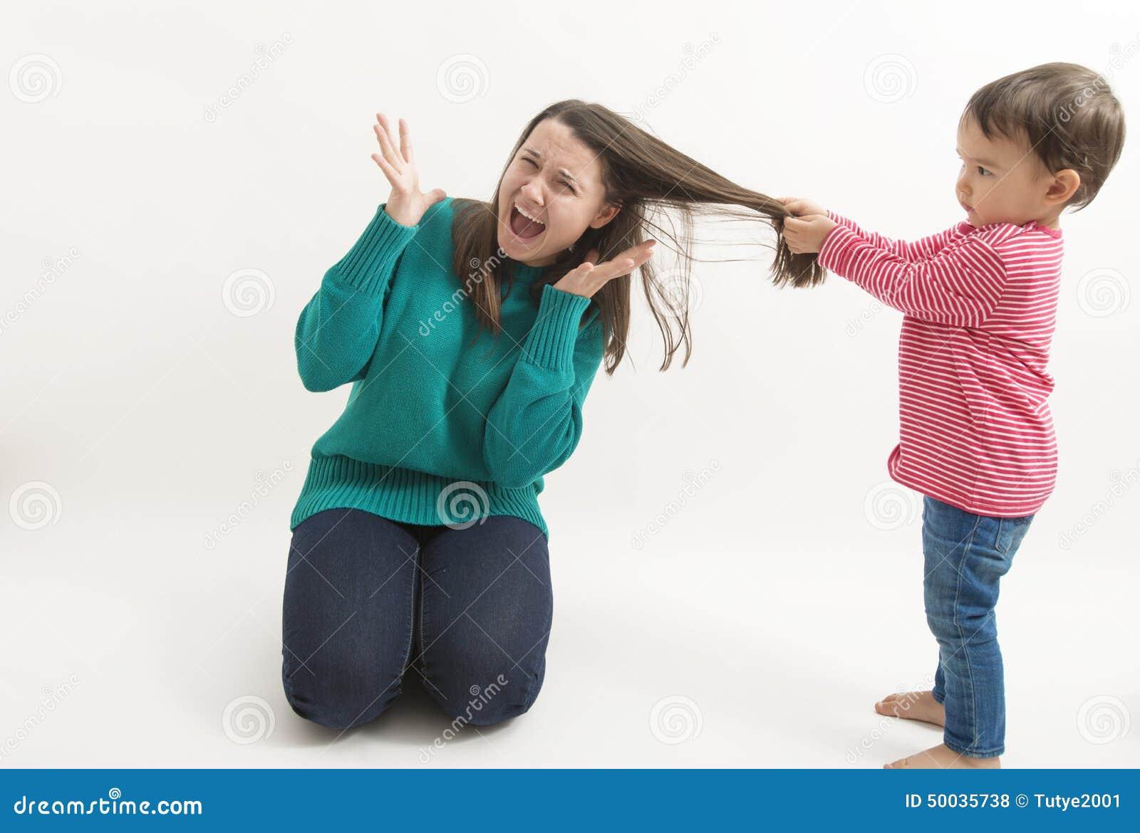 Girl pulling hair sex